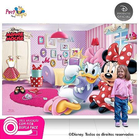 Painel de festa Decorativo - Quarto da Minnie - 2,20 x 1,45m