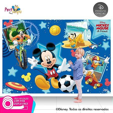 Painel festa Decorativo Mickey Esportes - 1,45x1,00m