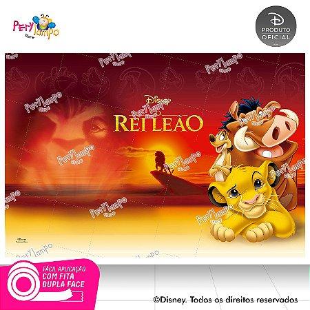Painel festa Decorativo O Rei Leão Clássico - 1,45 x 1,00m