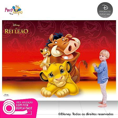 Painel festa Decorativo O Rei Leão Clássico 2- 2,20m x 1,45m
