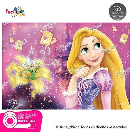 Painel Decorativo Enrolados - Rapunzel Torre - 1,45 x 1,00m