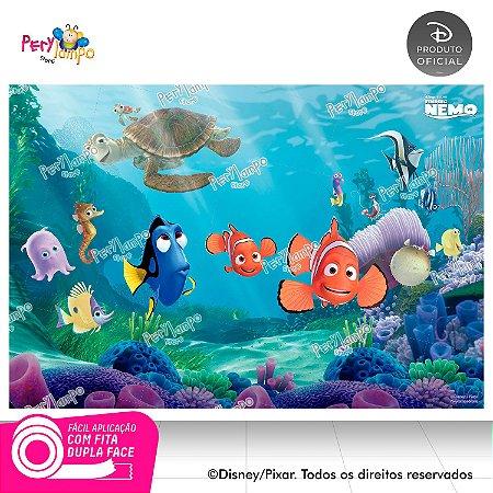 Painel de festa Decorativo - Procurando Nemo - 1,45 x 1,00m