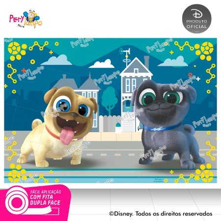 Painel de festa Decorativo - Puppy Dog Pals - 1,45 x 1,00m
