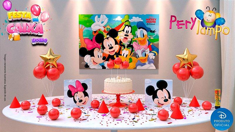 Kit Festa na Caixa HOME - Mickey e Amigos