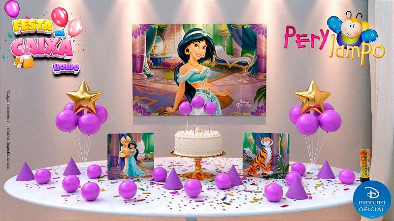 Kit Festa na Caixa HOME - Aladdin Jasmine