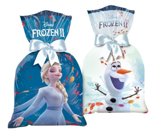 Sacola Surpresa Plástica Frozen II