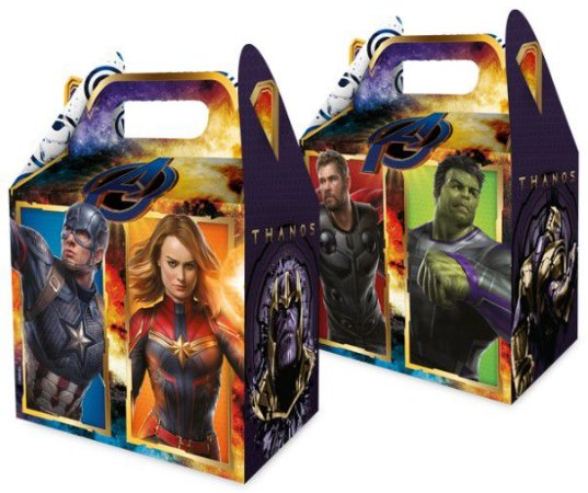 Caixa Surpresa Avengers Endgame