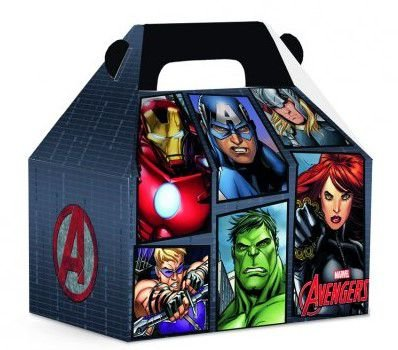Caixa Surpresa Maleta Avengers Herois