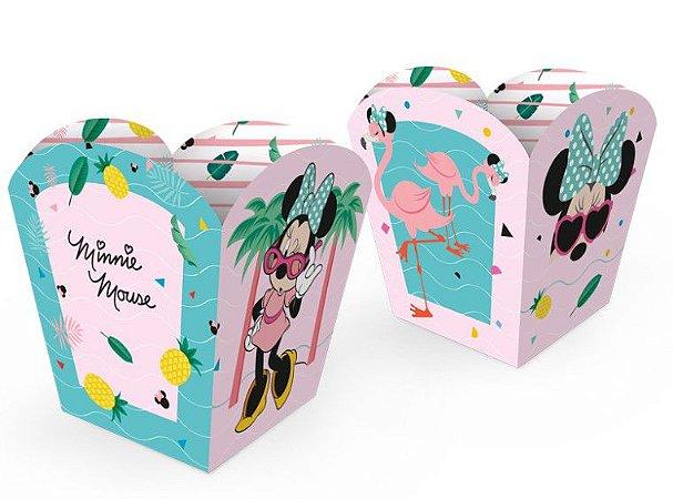 Cachepot Pequeno Minnie Flamingo - Disney