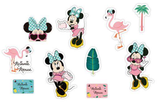 Decoração de Mesa Minnie Flamingo - Disney