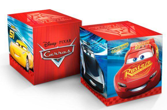 Cubo Decorativo Carros 3