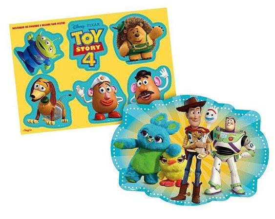 Kit Decoração Painel Toy Story 4