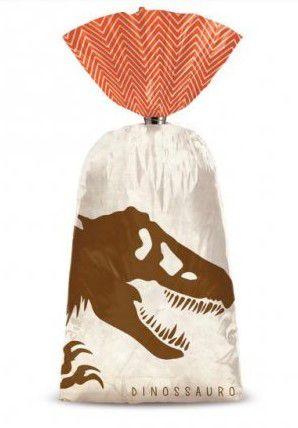 Sacola Surpresa Plástica Dinossauros