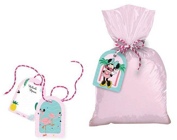 Tag com cordão Minnie Flamingo - Disney