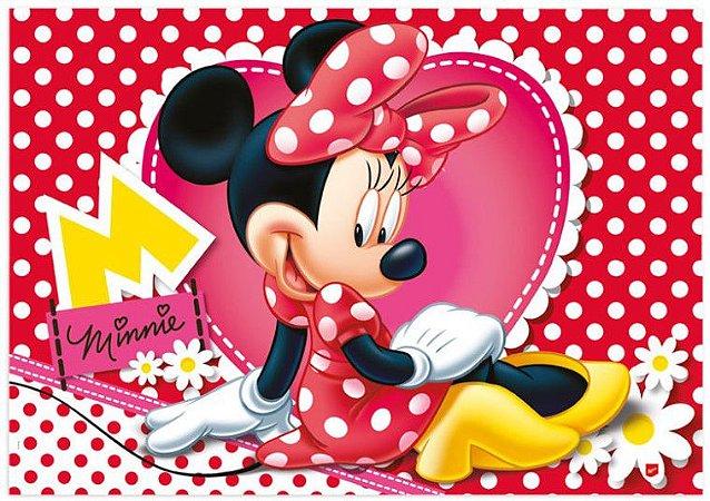 Painel Decorativo Minnie Vermelha - Disney