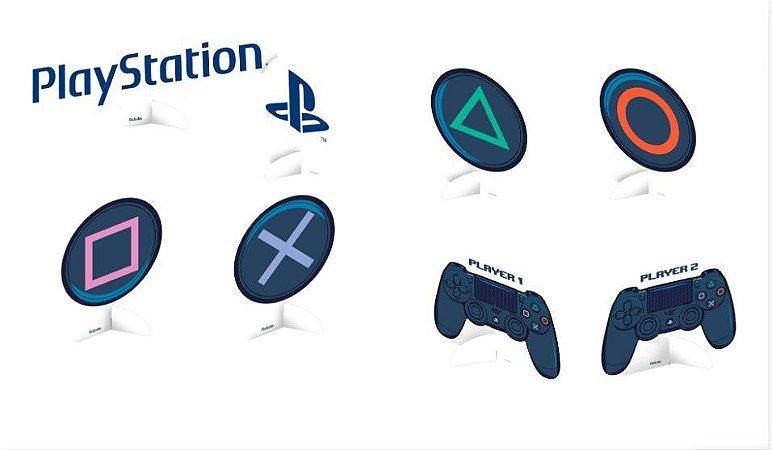 Decoração de Mesa PlayStation