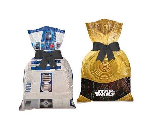 Sacola Surpresa Plástica Star Wars Clássico