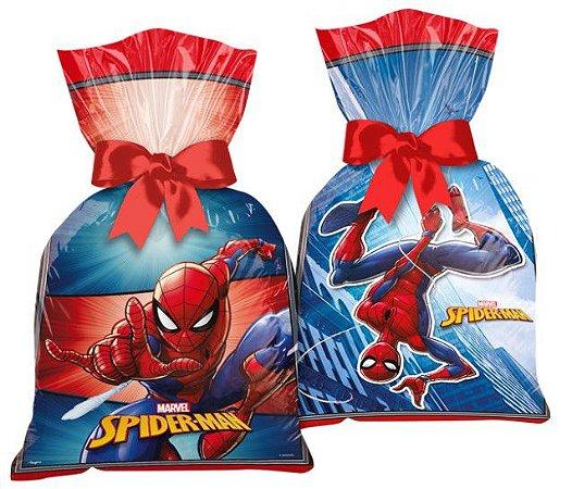 Sacola Surpresa Plástica Homem Aranha Spider-Man