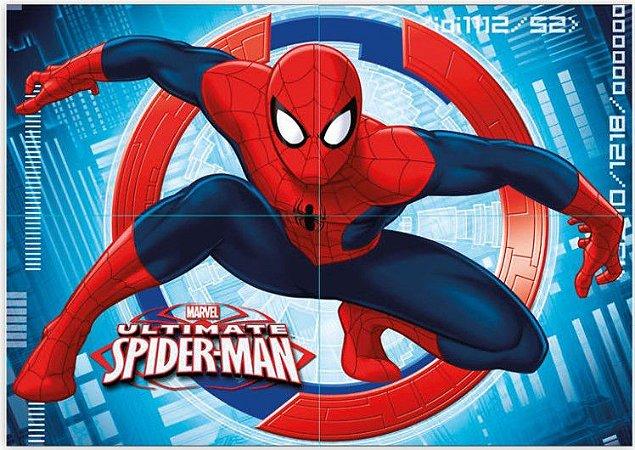 Painel Decorativo Homem Aranha Spider-Man