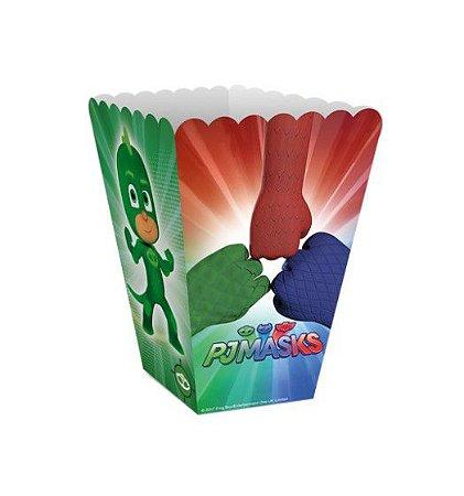 Mini Caixa de Pipoca PJ Masks