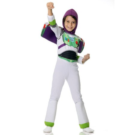 Fantasia Infantil Toy Story Buzz Lightyear luxo