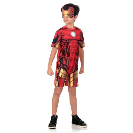 Fantasia Homem de Ferro Curto  - Marvel - Vingadores