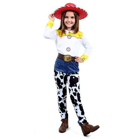 Fantasia Infantil Luxo Toy Story Jessie Disney