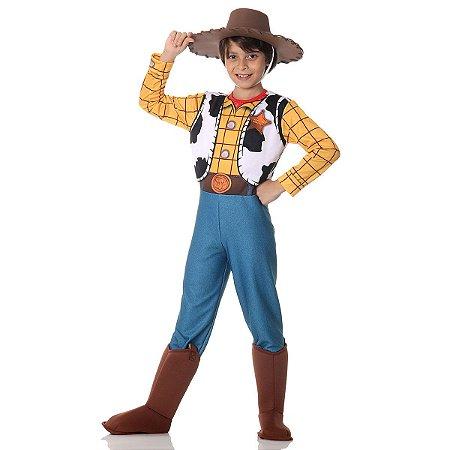 Fantasia infantil Toy Story Woody Luxo - Disney