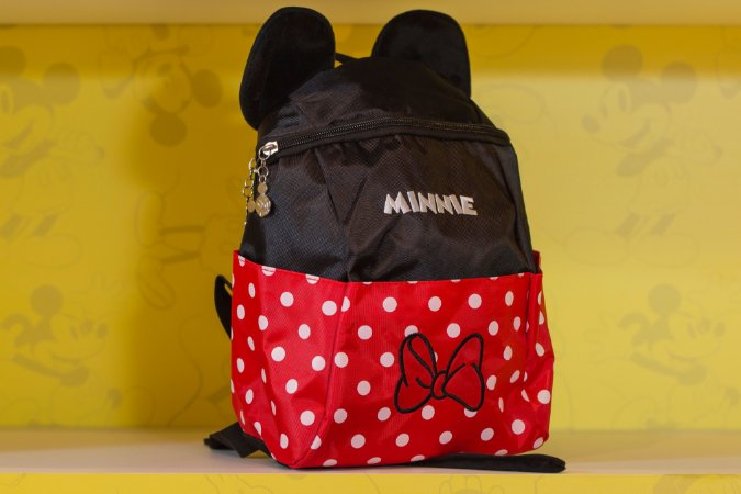 Mochila de Costa Minnie Lylon Bolso Frontal