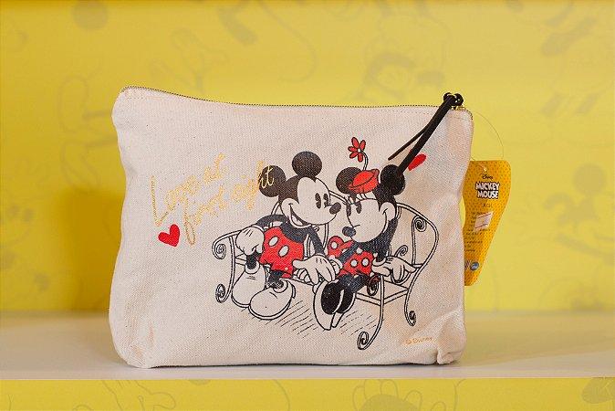 Necessaire Mickey e Minnie Namorando