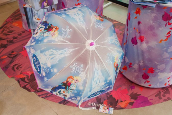 Guarda-Chuva Frozen Lilás - Disney
