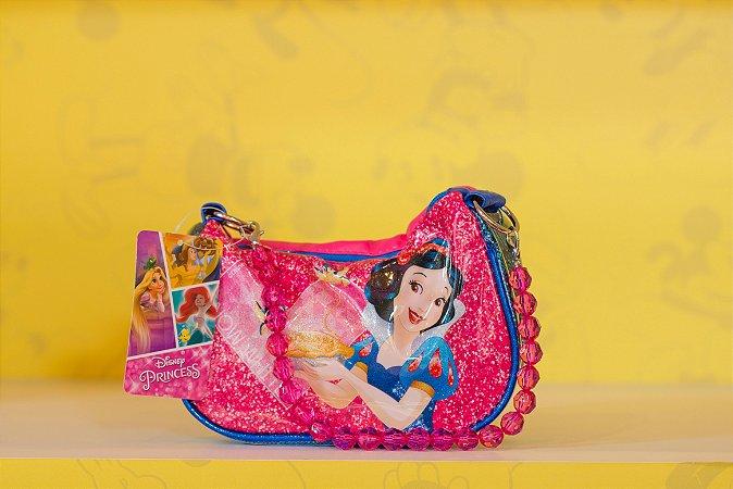 Bolsinha Branca de neve Azul e Rosa - Disney