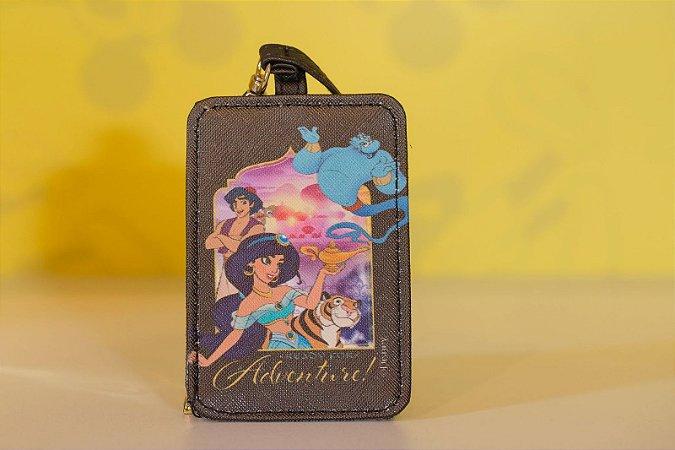 Tag para Mala Viagem Jasmine - Aladim - Disney