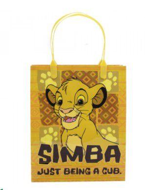 Sacola de Presente Simba O Rei Leão 22x18x7,5cm- Disney