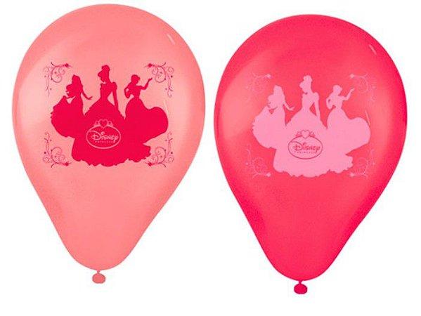 "Balões Látex 9"" Sortidos Princesas Disney"