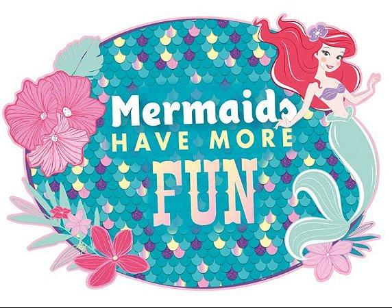 Painel Decorativo Ariel Pequena Sereia - Disney