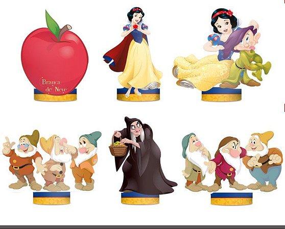 Decoração de Mesa Branca de Neve - Disney