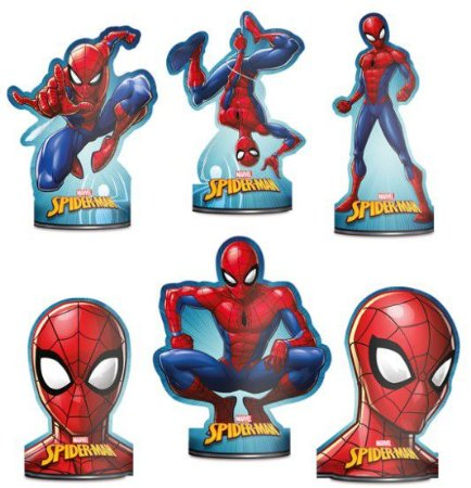 Decoração De Mesa Spider-Man