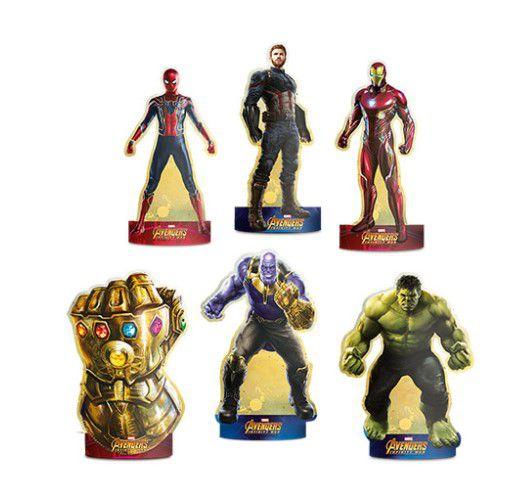 Decoração De Mesa Avengers Infinity War