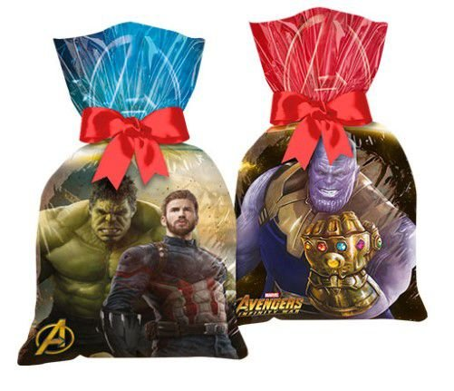 Sacola Surpresa Plástica Avengers Infinity War