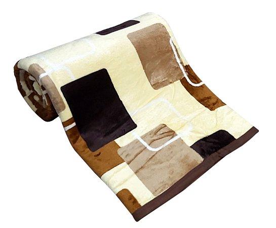 Cobertor Carneiro Estampado - 11949