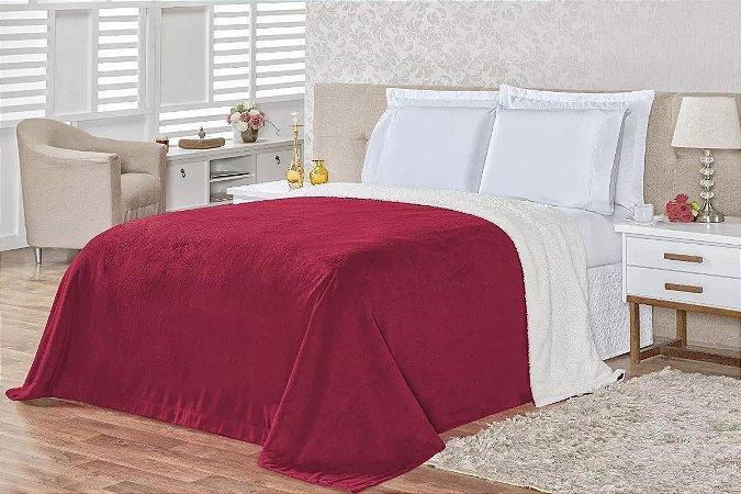 Cobertor Carneiro - Vermelha