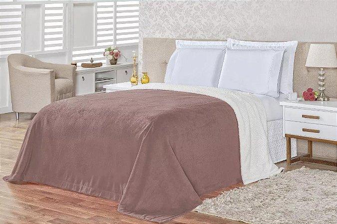 Cobertor Carneiro - Rosê
