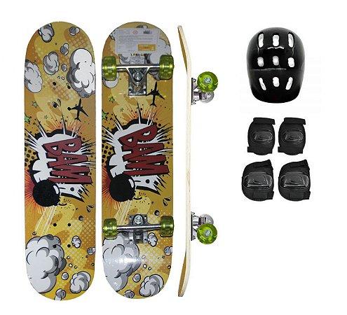 Skate - Bam Amarelo