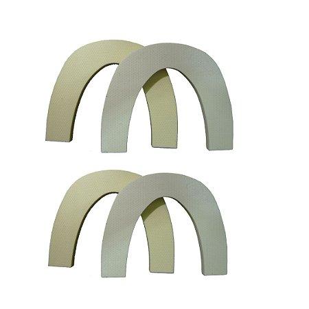Kit com 4 Arcos de Fibra de Vidro - Arch Free Metal