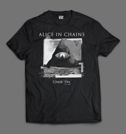 Camiseta - Alice in Chains - Rainier Fog.