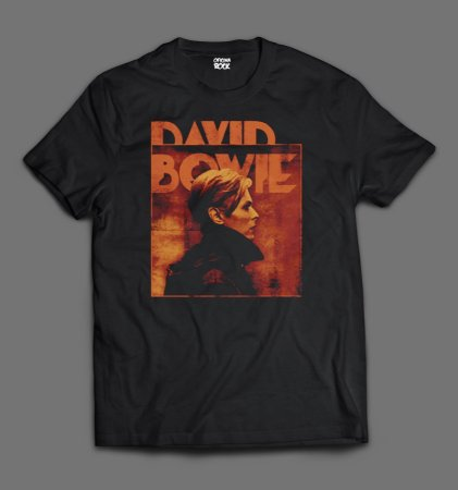 Camiseta - David Bowie.