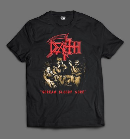 Camiseta - Death - Scream Bloody Gore