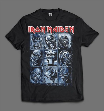Camiseta - Iron Maiden - Eddies