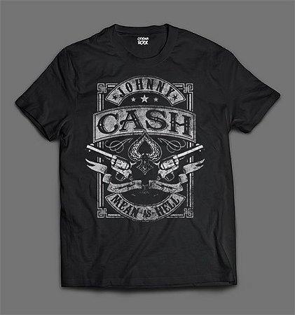 Camiseta - Johnny Cash - Logo